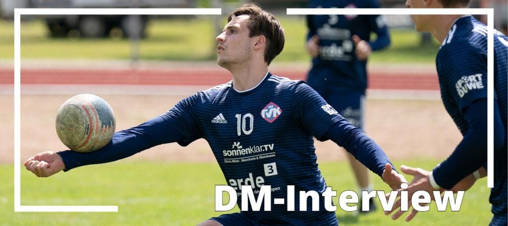 """DM-Interview mit Marcel Moritz: """"Wir können jeder Mannschaft Probleme bereiten"""""""