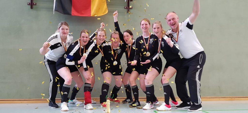 Frauen 30 schlagen bei Deutschen Meisterschaften zu