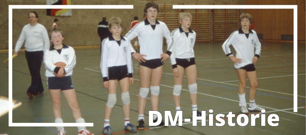 DM-Serie: Bei der Premiere 1982 fehlt nur die Medaille