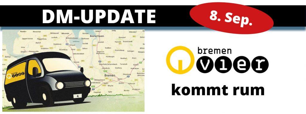 Bremen Vier mit Liveübertragung