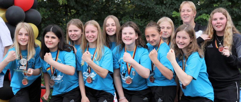 Weibliche U14 ergattert DM-Bronze