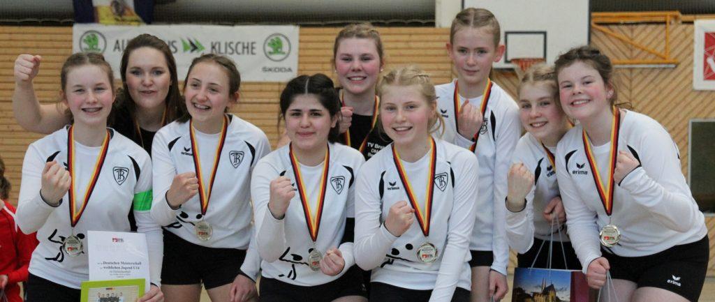 U14-Mädels zeigen beste Saisonleistung und gewinnen Silber