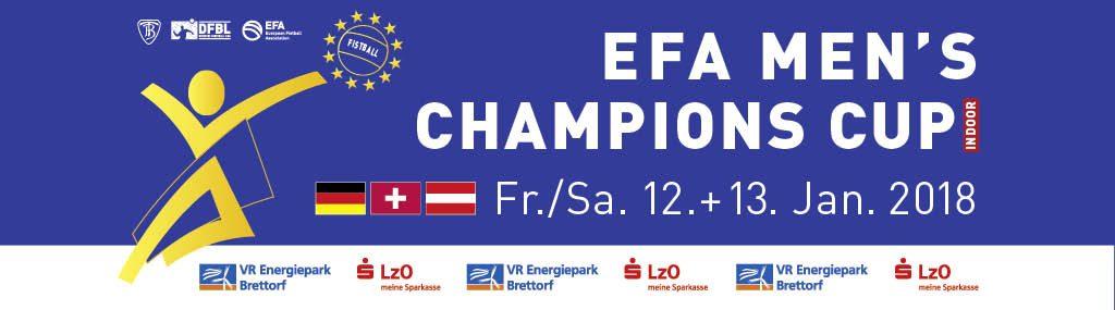 Brettorf freut sich auf EFA Champions Cup