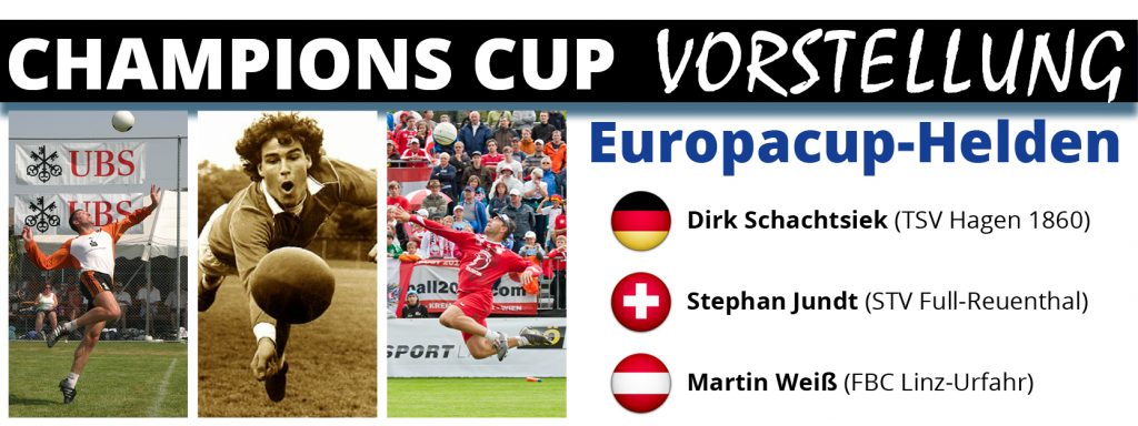 Die Helden des Faustball-Europacups