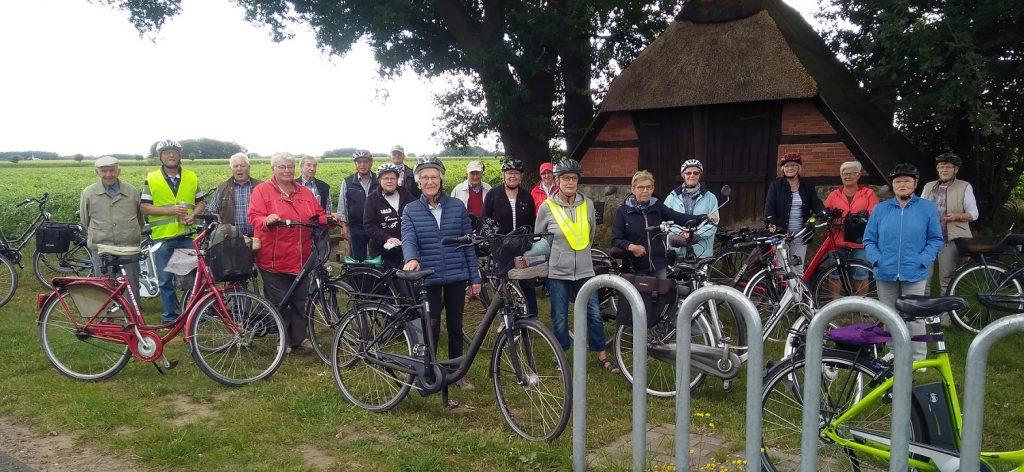 Radfahrergruppe des TV Brettorf ist wieder aktiv