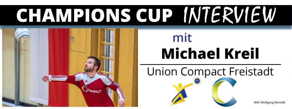 Champions Cup Interview 2: Michael Kreil (Union Compact Freistadt)