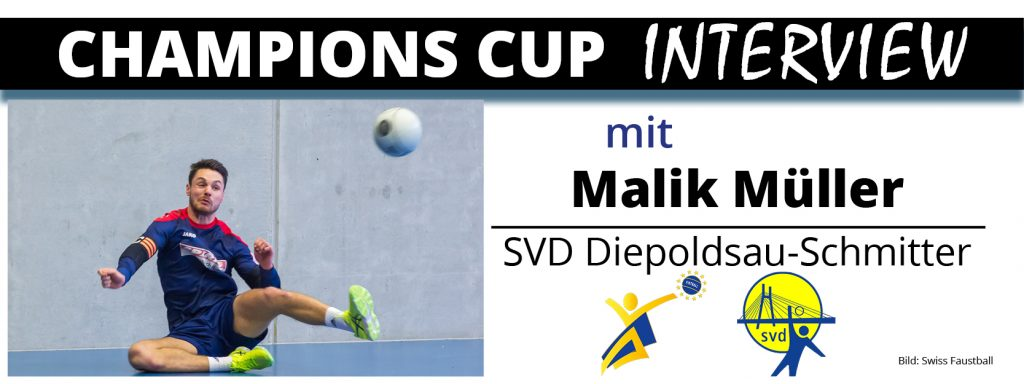 Champions Cup Interview 3: Malik Müller (SVD Diepoldsau)