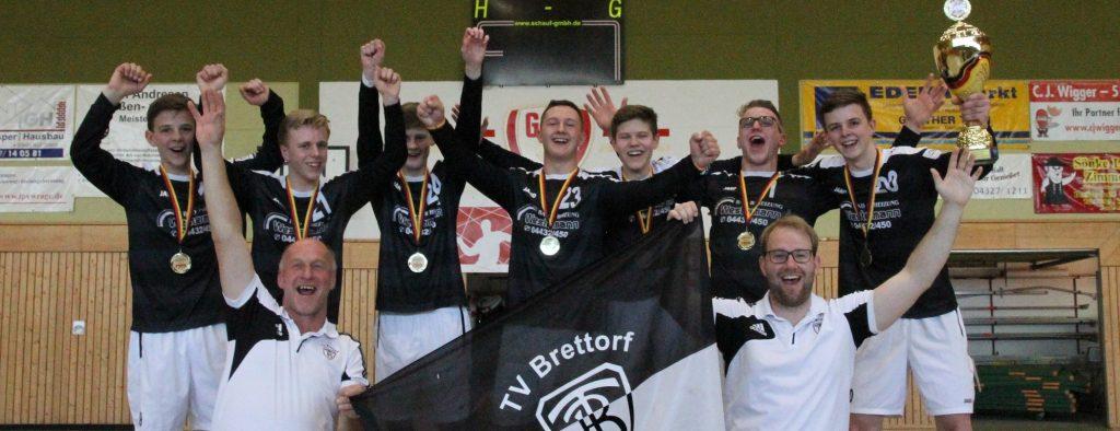 Auch männliche U16 jubelte über Goldmedaille bei DM